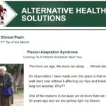 Flexion Adaptation Syndrome